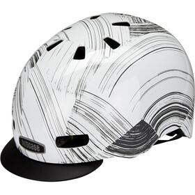 Nutcase Street MIPS Casco, blanco/gris
